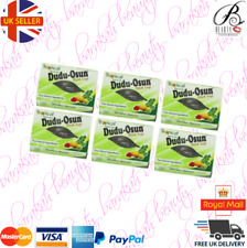 6 x Dudu Osun African Black Soap 150g for eczema, Acne, fungus (6 BARS)
