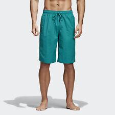 Costume uomo Adidas Short 3S SH CL Verde 3 strisce verde acqua  CV5146 Swimwear