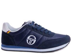 Scarpe da uomo invernali sneakers classiche sportive casual in camoscio blu