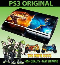 Playstation 3 Scorpion Sub Zero Mortal Kombat autocollant peau + manette