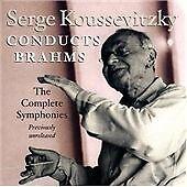 Brahms: Symphonies 1-4 (2CD), Johannes Brahms, Serge Kousevitz, Excellent