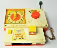 Vintage  Fisher Price Toys:  Radio #107 (1964) & Pocket Camera #464 (1974)