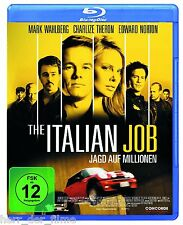 THE ITALIAN JOB (Mark Wahlberg) Blu-ray Disc NEU+OVP