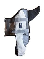 L.D.Dog Dog M Shark Life Vest Jacket With Handle Grey Buckles Adjustable