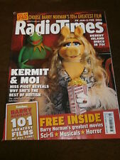 RADIO TIMES - MUPPETS KERMIT & MISS PIGGY - JAN 28 2012