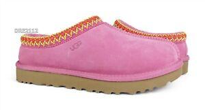 UGG Tasman Wildberry Suede Fur Slippers Womens Size 8 *NEW*