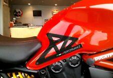 ADESIVI 3D GEL PROTEZIONI LATERALI GINOCCHIA compatibili per MOTO DUCATI MONSTER