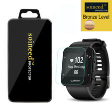[1-Pack] SOINEED Tempered Glass Screen Protector For Garmin Forerunner 35