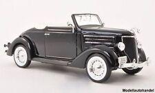 Ford De Luxe Cabriolet 1936 - schwarz - 1:24 WELLY