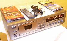 Yamaha kx-670 tape Deck con accesorios