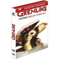 """DVD PELICULA """"GREMLINS 1 / GREMLINS 2"""". Nuevo y precintado"""