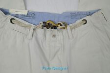 Polo Ralph Lauren Mens Nautical rope buckle Chinos Pants Flat front SZ 36 30 NWT