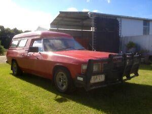 Original Holden WB Panel Van