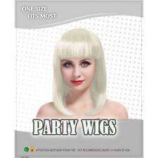 Perruques et toupets blonds sans marque pour femme