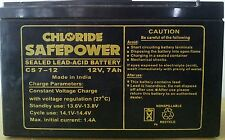Exide Chloride Safe Power Battery 12v 7 Ah (UPS, Inverters, Solar Equipments)