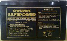 Exide Chloride Safe Power Battery 12v 7 Ah (UPS, Inverters, Solar Equipments)