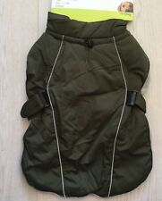 DOG WINTER COAT ARMY GREEN 60CM