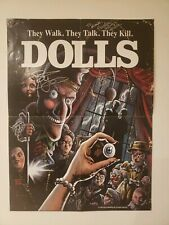 DOLLS ORIGINAL MOVIE POSTER ART BY Nathan Thomas Milliner ~SIGNED!!