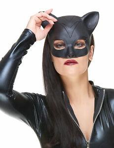 Demi masque Latex femme-chat adulte Cod.155224