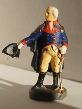 Old Vintage German Elastolin George Washington Figure President War Soldier Toy