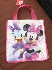 Disney Minie and Daisy Colorful Reusable Shopping / Tote Bag, FREE SHIPPING