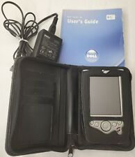 2002 Dell Axim X5 Pocket Pc Palm Pilot Charger Case User Guide Tested See Pics