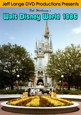 Walt Disney World Dvd Vintage 1986 Footage, Magic Kingdom Discovery Island Epcot