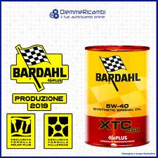 6 LT OLIO MOTORE BARDAHL XTC C60 5W40 - 6 litri