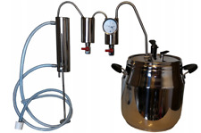 15L stainless steel kettle alcohol distillation house distillery wine