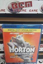 Dr. Seuss Horton Hears a Who (Blu-ray Disc, 2008, Canadian)