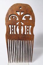 Alter großer Kamm Ewe 28cm Used old comb peigne Togo Afrozip
