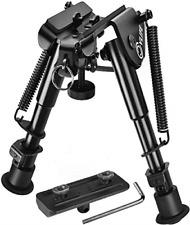 2 in 1 Bipod Adjustable Bipod, Picatinny Mlok Keymod Rail Mount Adapter