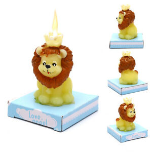 Birthday Party Creative Smokeless Lion Small Scented Making Candle Wedding Ddn