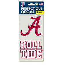Alabama Car Window Decal 4 Inch Decal Set