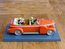 Voiture miniature Tintin au 1/24ème Le taxi de Naw Delhi