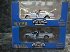 2 gearbox new york city police cars/ new