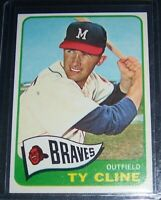1965 TOPPS TY CLINE MILWAUKEE BRAVES #63 NM