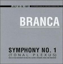 """Glenn Branca: Symphony No. 1 """"Tonal Plexus"""" (CD, Sep-1998, ROIR)"""