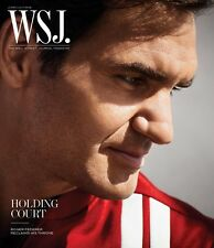 WALL STREET JOURNAL MAGAZINE WSJ JUNE JULY 2018 ROGER FEDERER PETER SAVILLE
