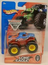 Hot Wheels Monster Jam LONE EAGLE Truck MOC c.2004 w/Metal Base 1:64
