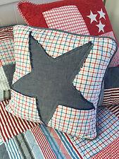 Linens N Things Thomas Coastal Beach Appliquéd Star Cushion Cover
