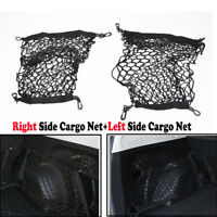 Right Left Side Rear Cargo Net Mesh Side Nets Fit For SUBARU Forester 2009-2017