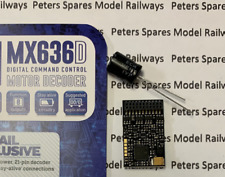 Zimo MX636D High Power 21 Pin Decoder 25x15x3.5mm 2.5A 16V Stay-Alive 10 Func