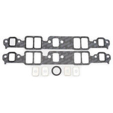 Edelbrock Intake Manifold Gasket Set 7201; Composite for Chevy 262-400 SBC