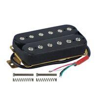 Electric Guitar Humbucker Pickups Bridge Alnico V Pickup Black S3S1