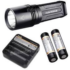 New Fenix TK35UE1800 Lumen Cree LED tactical Flashlight Battery & ARE-C1 Charger