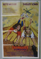 Original Vintage Outrageous Fortune Movie Poster -Bette Midler Shelley Long-1987