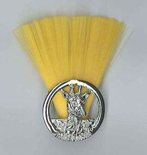 SCOUTS OF TANZANIA - SCOUT INSTRUCTOR (YELLOW COLOUR) Metal Plume / Hat Patch