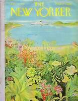 1962 New Yorker February 17 - Caribbean Island Paradise