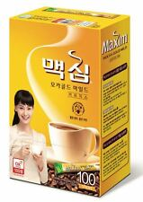 Korean Instant Coffee Mix Maxim Mocha Gold Mild 100 Sticks